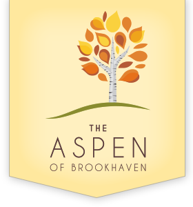 The Aspen of Brookhaven Logo